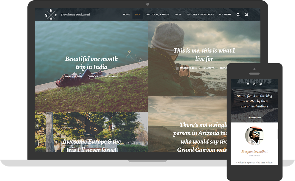 Hedy Travellers WordPress Theme