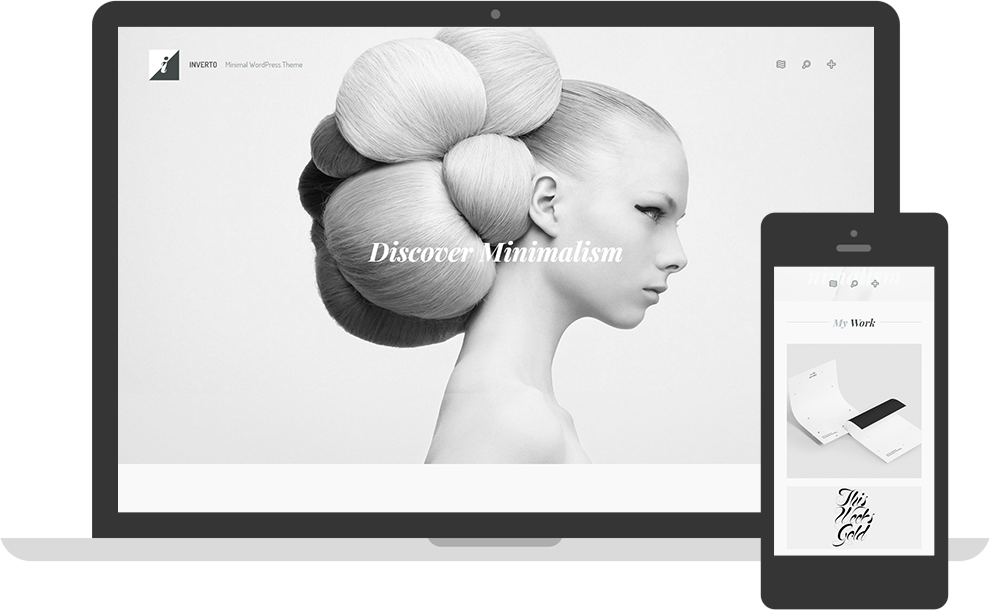 Inverto Minimal WordPress Theme